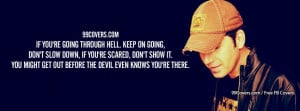 Rodney Atkins If Youre Going Through Hell Facebook Covers