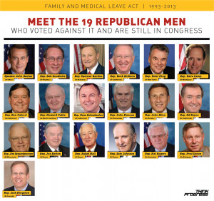 ... Family Medical Leave Act, Meet The Republican Men Who Voted Against It
