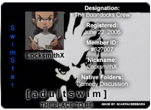 The Boondocks Stinkmeaner Quotes Here is were the boondock