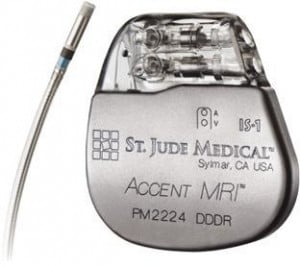 Accent MRI Pacemaker from St. Jude Medical