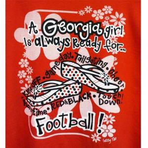 Georgia Girl! #Ultimate Tailgate #Fanatics