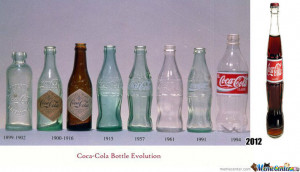of cocacola 640 21 Funny: Coca Cola bottle packaging evolution