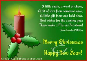 Christmas Card Sayings 07