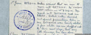 WWI unit diary: The First Battalion South Wales Borderers went to ...
