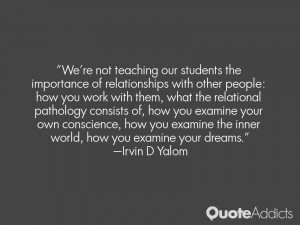 We're not teaching our students the importance of relationships with ...