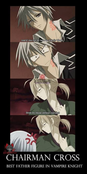 VAMPIRE KNIGHT Anime quotes