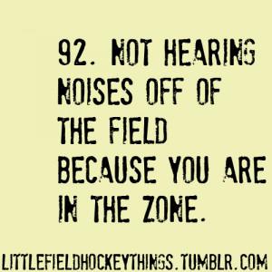 Field Hockey Goalie Quotes
