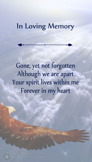 Popular Sympathy Memorial and Quotations, Poems & Verses