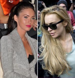 Megan Fox Und Lindsay Lohan...