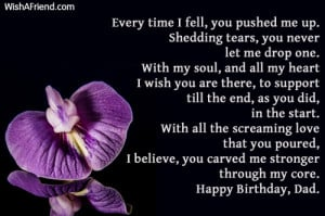 BIRTHDAY QUOTES FOR DECEASED FATHER IN LAW