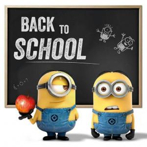 Back to School minion