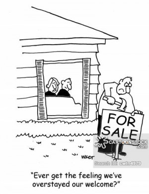 house guest unexpected house guests houseguest cartoon 7 of 22