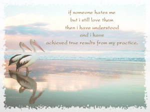 Buddhist Quotes & Sayings about practicing and love
