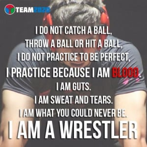 mom of a wrestler! ~ I Am a Wrestler #wrestlerquote: Sports Quotes ...