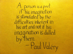 The Graphic Recorder - Handwritten Quotes - Paul Valery - Stimulated ...
