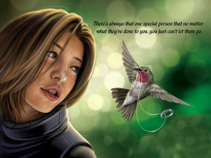 ... Always That One Special Person Quote And The Girl And The Bird Picture