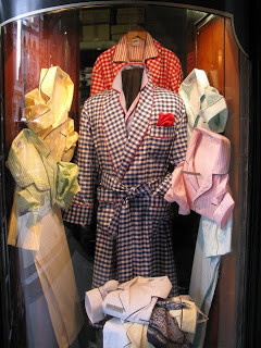 Gingham robes at Budd