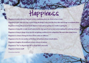 Happiness,Happiness Autism, Happiness, Inspiration, Happiness Poem