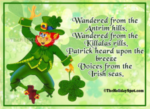 Quotes and Sayings on St. Patrick's Day