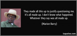 More Marion Barry Quotes