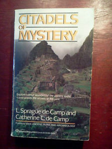 Citadels of Mystery by L Sprague de Camp 1973 Paperback
