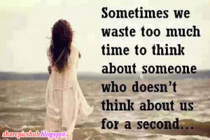 Sometime We Waste Sad Love Quote | Alone Girl Quotes in English