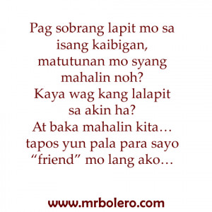 love friend tagalog quotes Super Sad Love Tagalog Quotes