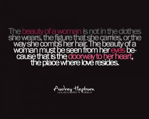 audrey hepburn, beautiful, love, quote, saying, text