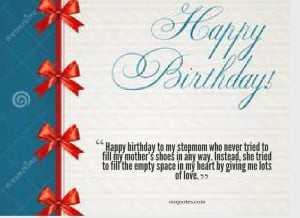birthday quotes for stepmom