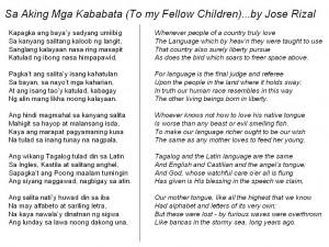 ... sa gipadulongan - Jose Rizal's Quote (Translated to Cebuano-Bisaya