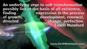 Lewis Mumford self-transformation