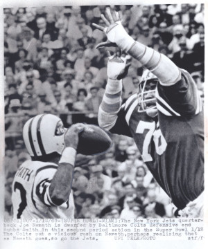 Joe Namath & Bubba Smith – Super Bowl III