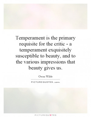 Temperament Quotes | Temperament Sayings | Temperament Picture Quotes