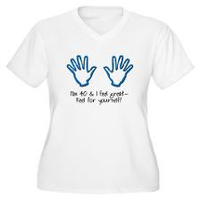 40Th Birthday Quotes Women's Plus Size T-Shirts