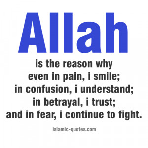 Thank you Allah. I truly appreciate it.