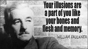 Faulkner's response was: