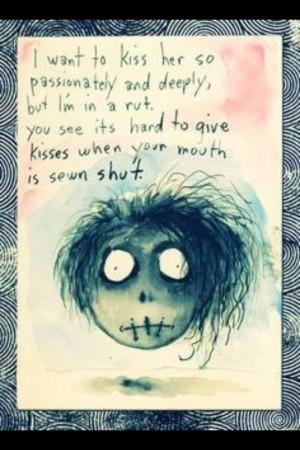 Tim Burton Love Poems