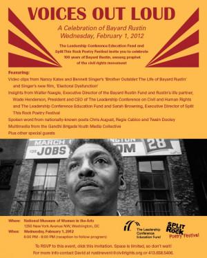 Split This Rock Celebrates the Life & Legacy of Bayard Rustin