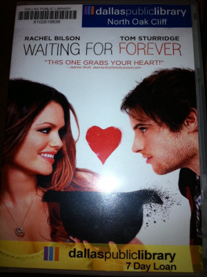 Waiting For Forever Movie Waiting for forever (movie)
