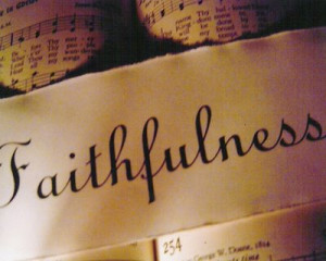 Be faithful/wise with the provisions He provides you with.