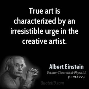 Albert Einstein Art Quotes