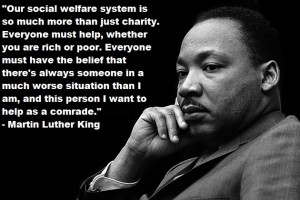 Our social welfare system is so much more than just charity ...