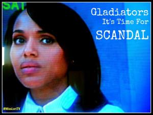Gladiators BackTo Handling Things On Scandal #MLTV