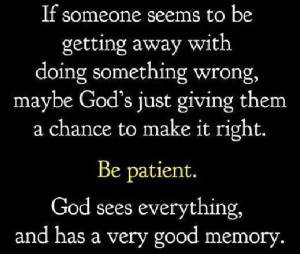 God is always in control