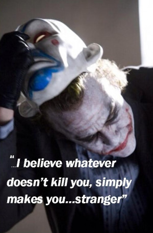 Batman The Dark Knight Joker Quotes
