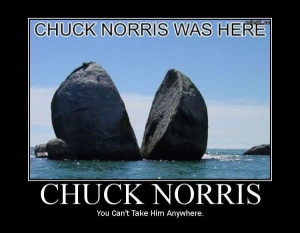 Proof the Chuck was gone here