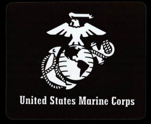 Mousepad: EGA, United States Marine Corps