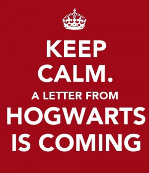 Harry Potter Keep Calm