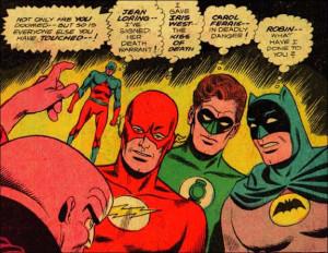 Evidence Batman is Gay