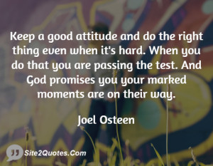 joel osteen on positive thinking quotes